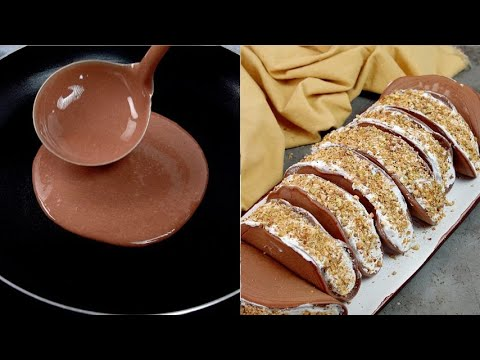 Chocolate tacos the best way for start your day
