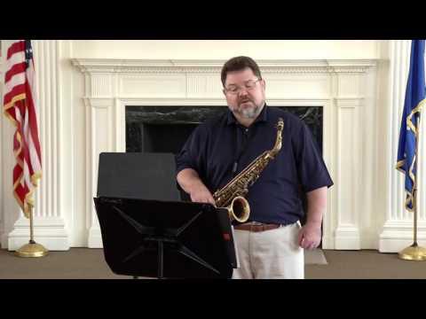CMEA 2016 Regional Audition Tutorial- Carl Knox, Saxophone (Classical)