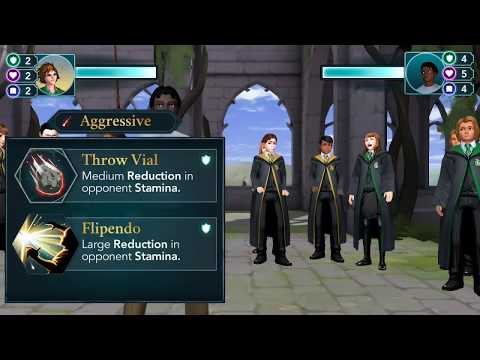 Harry Potter Hogwarts Mystery : 🤕Harry lost his first duel against merula (HARRY vs MERULA)🤕