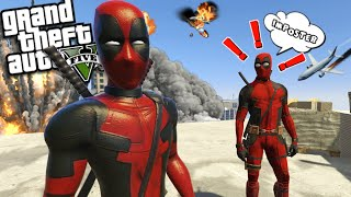 The STORY of the FAKE DEADPOOL (GTA 5 Mods)