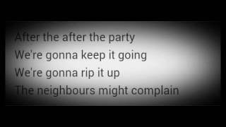 Charli xcx - After the afterparty. Ft. Lil yachty (Lyric Video).