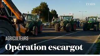 Les agriculteurs sortent les tracteurs pour des opérations de blocage contre la future PAC