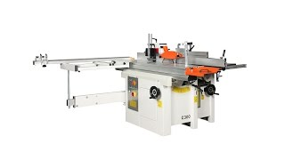 Making a window with combined machine C300