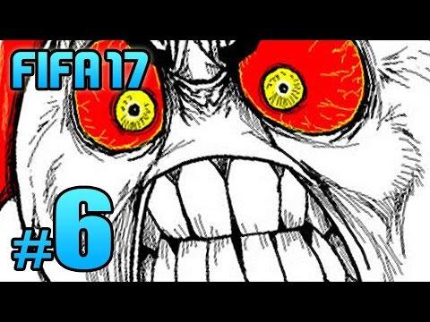 FIFA 17 Kariyer #6: ARTIK SİNİRLENİYORUM AMA!!!