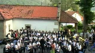 Banda de Lousame Unha noite na eira do trigo de Xoán Montes.mpg