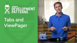 علامات التبويب و ViewPager (الروبوت أنماط التنمية Ep 9)