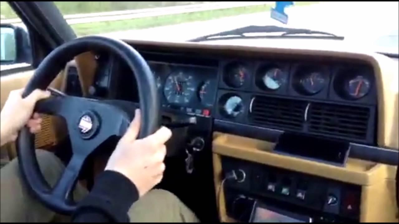 Volvo 240 Turbo open pipe sound - YouTube