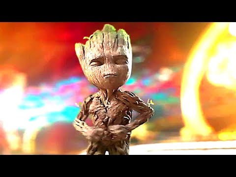 Thumbnail: GUARDIANS OF THE GALAXY 2 - Intro of the Movie with BABY GROOT Dance (Blu Ray Clips + Trailer)