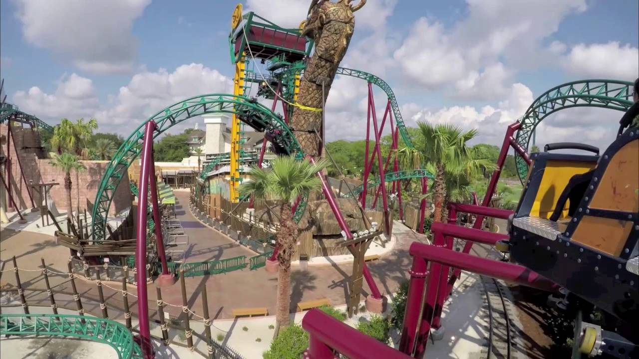 Cobra s curse now open at busch gardens tampa bay tour america youtube for Busch gardens tampa bay cobra s curse