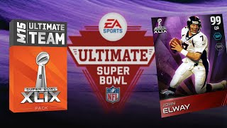 Super Bowl Pack Opening FaceCam! - MUT 15