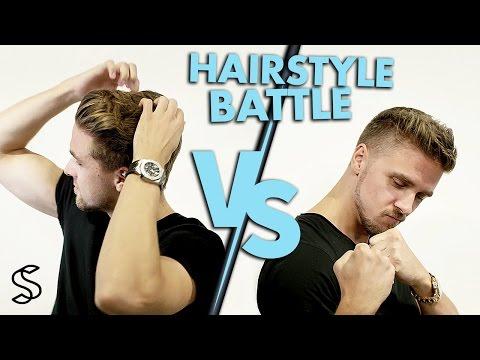 Quick hair fashion battle ★ E. Vilain vs. R. Vilain ★ How to style short & medium long hair
