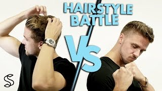 How to style short and medium long hair ★Quick hair fashion battle