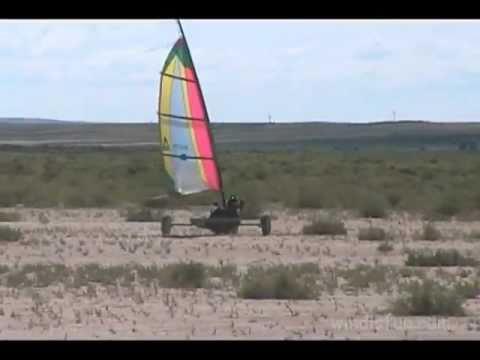 Landsailing Wahu Wyoming