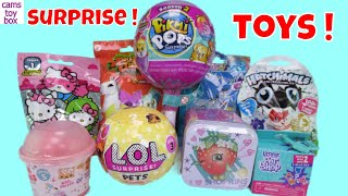 Pikmi Pops 2 Surprise Toys LOL Pets Unboxing Hello Kitty Animal jam Num Noms Littlest Pet Shop