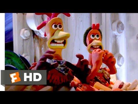 Chicken Run (2000) - The Pie Machine Scene (6/10) | Movieclips