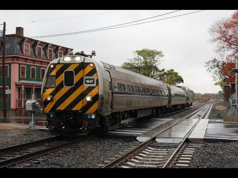 Quick Railfanning: Springfield Shuttle 475 in Wallingford, CT