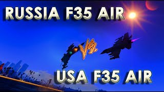russia f35 air vs usa f35 air