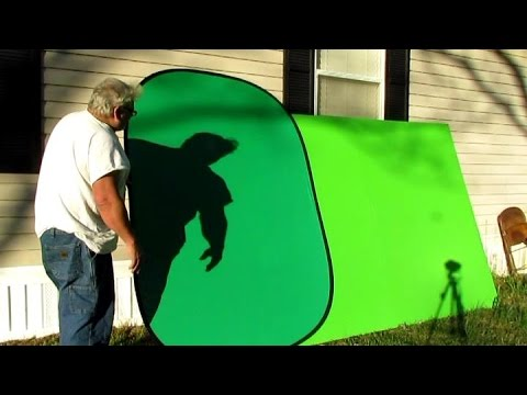 Quality 5'x7' Collapsible Chromakey Green Screen Background