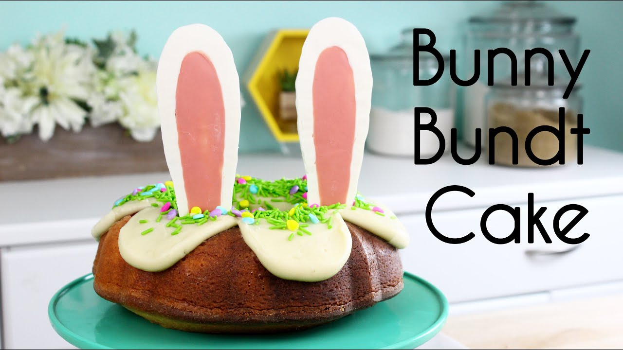 Bundt cake recipes for easter