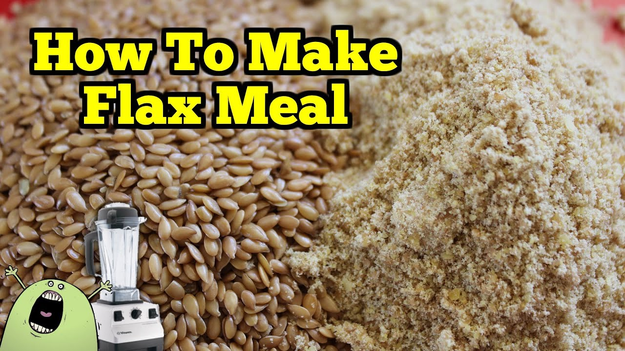How to Make Flax Meal