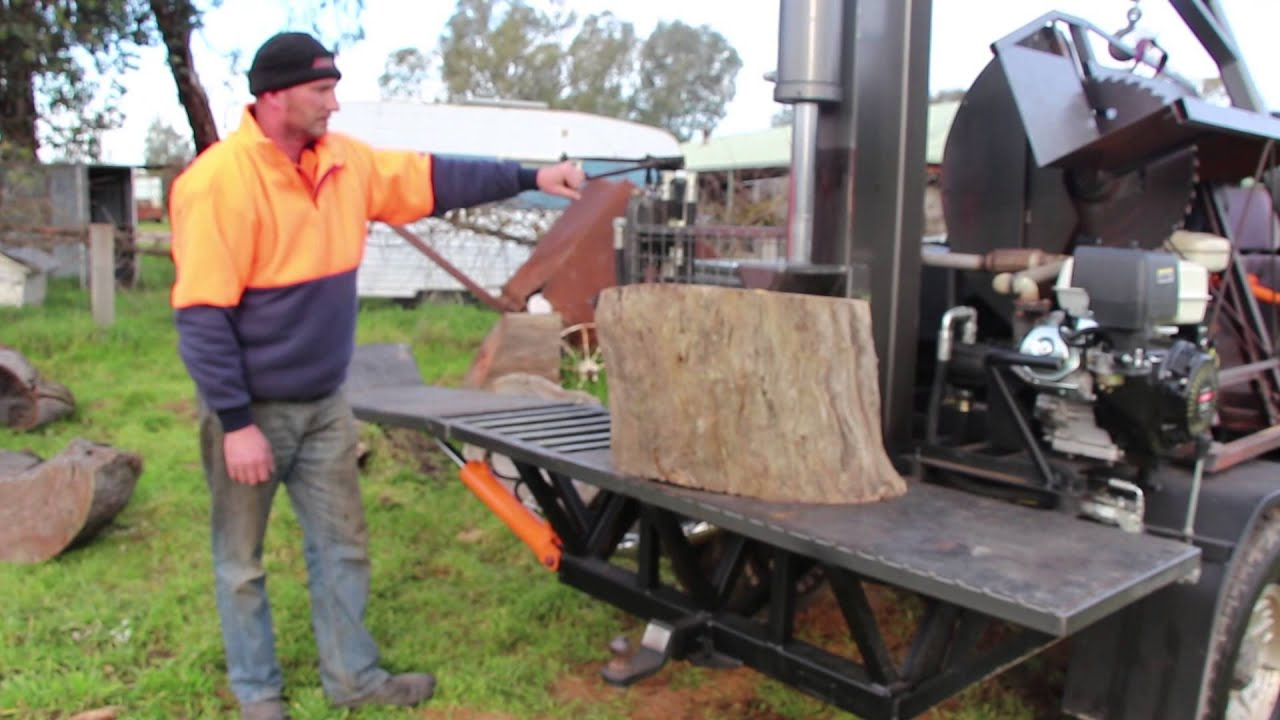 firewood splitter machine