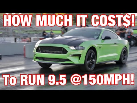 HOW MUCH it COSTS to go 9's in a 2018-2020 MUSTANG GT!