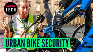How To Lock Your Bike In Town | GMBN Tech's Guide To Urban Bike Security