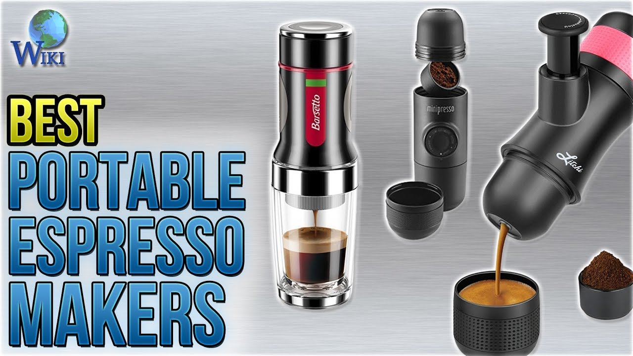 10 best portable espresso makers 2018 youtube. Black Bedroom Furniture Sets. Home Design Ideas