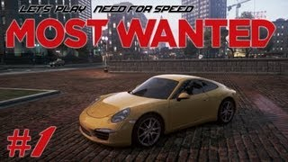 Let's Play Need for Speed: Most Wanted (2012) - Ep. 1: KEYS TO THE CITY