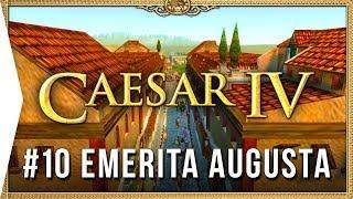 Caesar IV ► Mission 10 Emerita Augusta - Classic City-building Nostalgia [HD Campaign Gameplay]