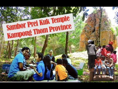 Trip to Sambo Prei Kuk Temples Resort in Kampong Thom province