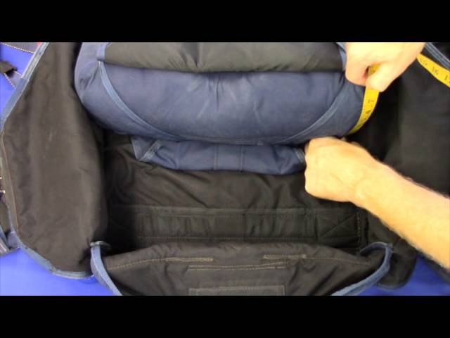 How to measure for a new D-bag. Skydiving Services LLC