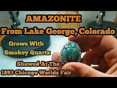 Amazonite From Lake George Colorado