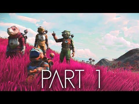 No Man's Sky NEXT Gameplay Walkthrough Part 1 - MY SHIP (Xbox One)