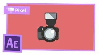 Анимируем фотоаппарат в After Effects | уроки для новичков