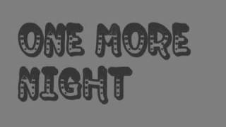 one more night- busy signal