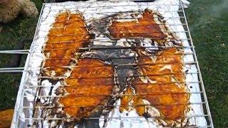 Como prepara Pescado Sarandeado (filete) - Receta mexicana