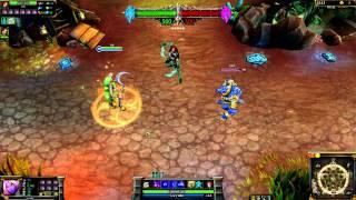 (OLD) Dryad Soraka (2012 Visual Upgrade) League of Legends Skin Spotlight