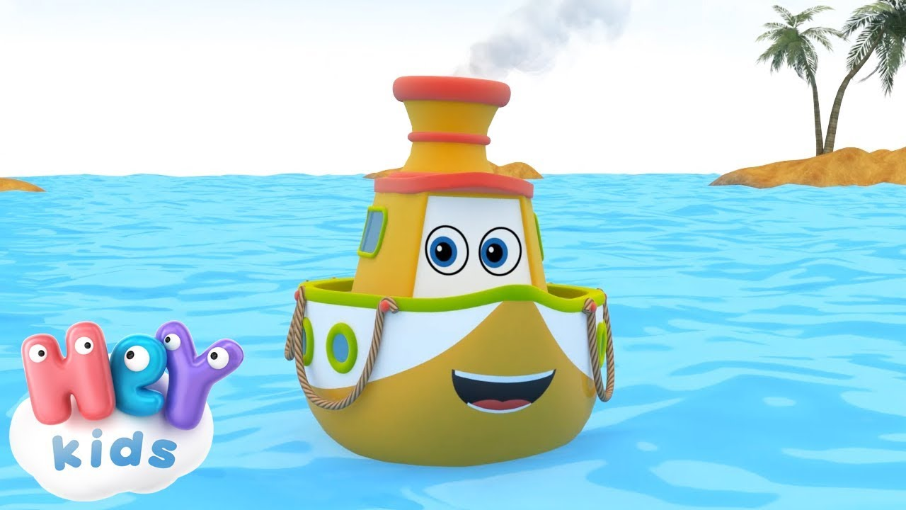 Download Songs For Kids: The Little Boat + many more nursery rhymes  by HeyKids