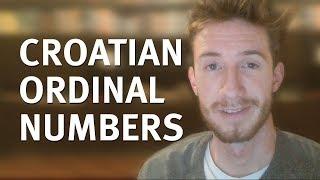 Ordinal Numbers (Learn Croatian)