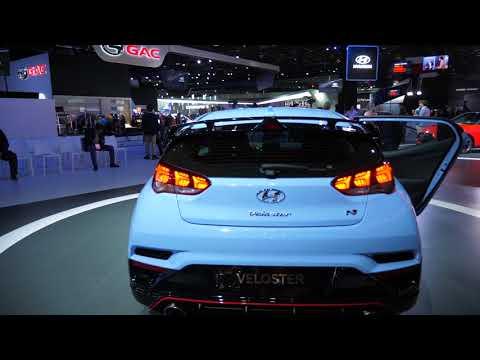 Самый необычный Hyundai ассиметричный Veloster 2018 Детройт 2018