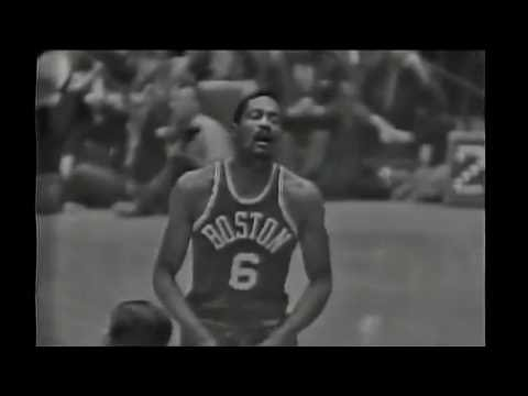 1963 NBA Finals - Boston vs Los Angeles - Game 6 Best Plays