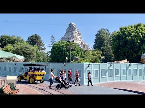 What's Changing At Disneyland ? Summer Construction Update - Disney Theme Park Closures & Progress