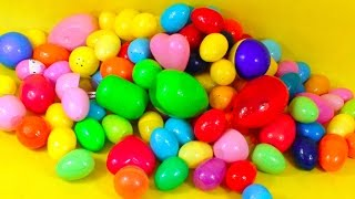 110 Kinder Surprise Eggs - Kider Suprise - A lot of toys Cartoon Network! Nickelodeon