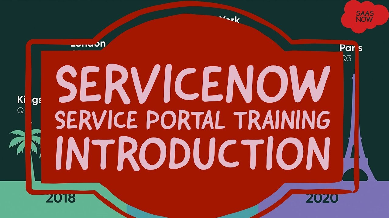 #1 ServiceNow Service Portal Training | Introduction