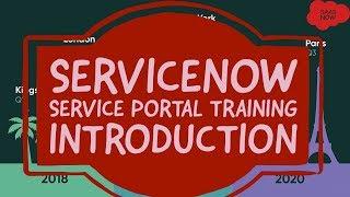 #1 ServiceNow Service Portal Training | Introduction