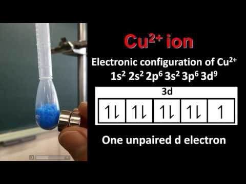 13.1 Magnetic properties of the transition elements (HL)