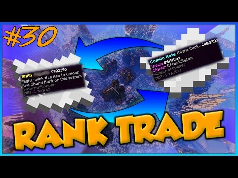 $6,000,000 GOD RANK TRADE!! CosmicPvP ICE Planet FACTIONS Se