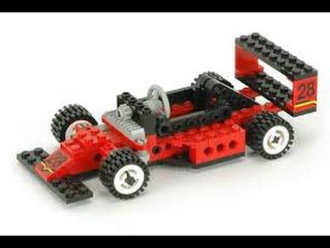 Lego Technic 8808 Formula One Racer Instructions Year 1994 Youtube
