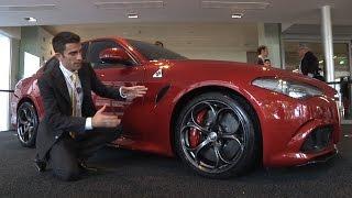 Alfa Romeo Giulia | Vista dal vivo, fa questo effetto!